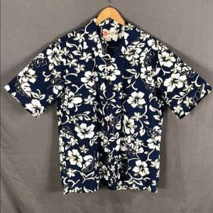 Hilo Hattie Hibiscus Hawaiian Shirt (069)